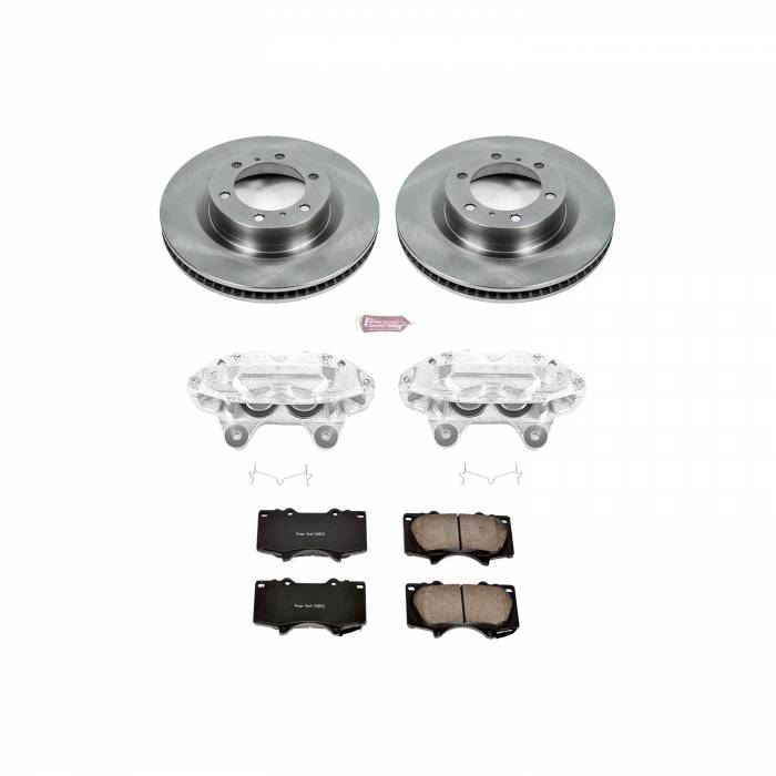 Power Stop - Autospecialty By Power Stop 1-Click OE Replacement Brake Kit w/Calipers   Power Stop (KCOE5873)
