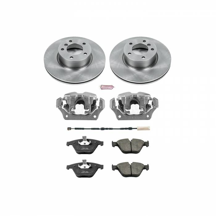 Power Stop - Autospecialty By Power Stop 1-Click OE Replacement Brake Kit w/OE Calipers | Power Stop (KCOE6070)