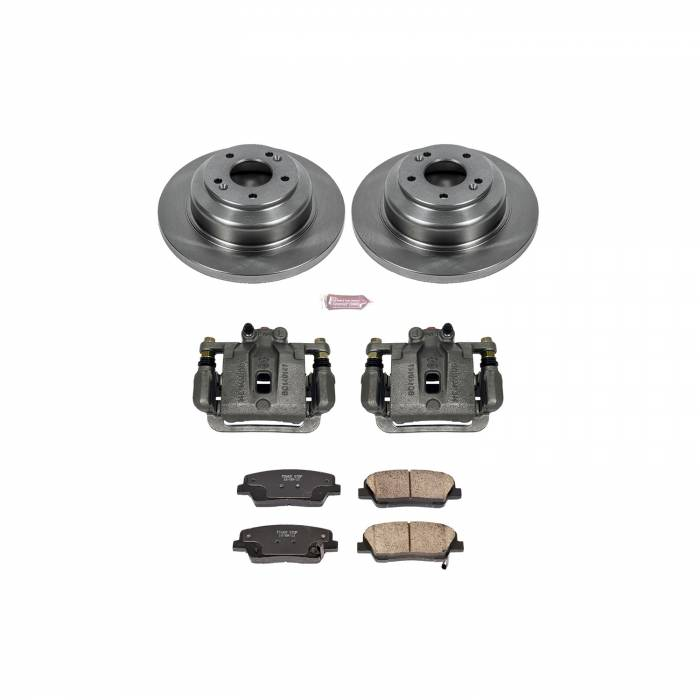 Power Stop - Autospecialty By Power Stop 1-Click OE Replacement Brake Kit w/Calipers | Power Stop (KCOE6168)