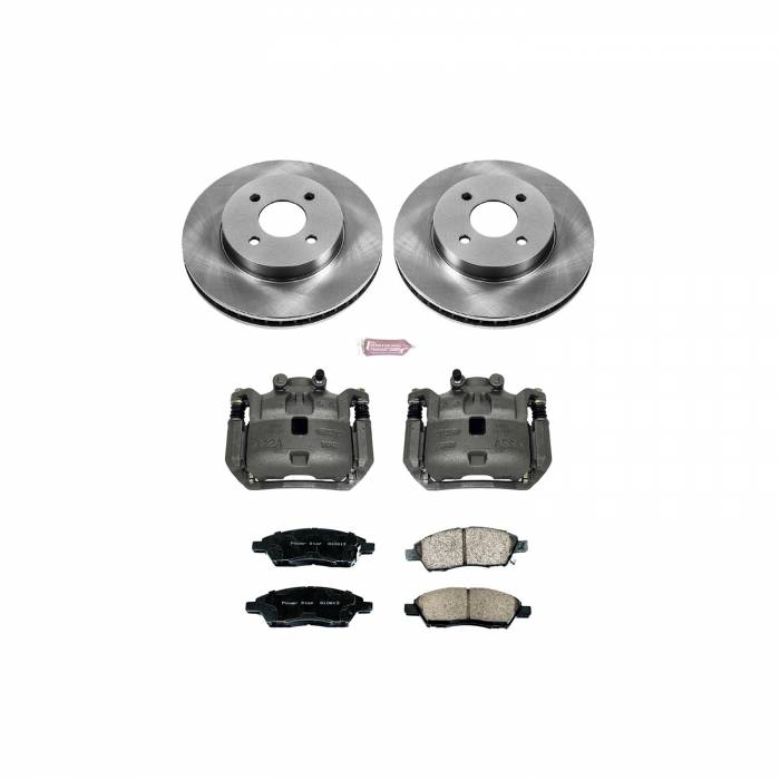 Power Stop - Autospecialty By Power Stop 1-Click OE Replacement Brake Kit w/Calipers | Power Stop (KCOE6096)