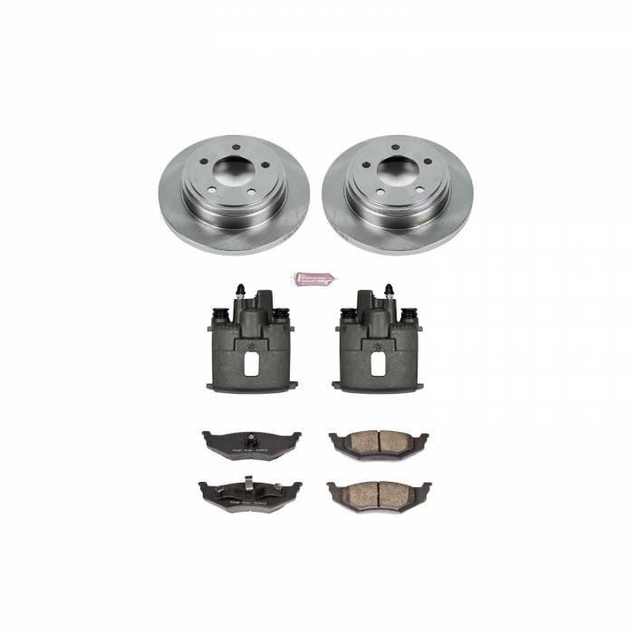 Power Stop - Autospecialty By Power Stop 1-Click OE Replacement Brake Kit w/Calipers | Power Stop (KCOE6263)