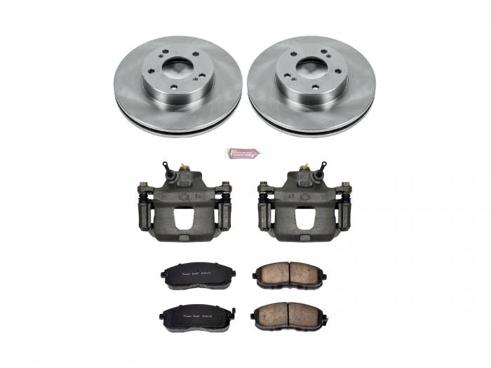 Power Stop - Autospecialty By Power Stop 1-Click OE Replacement Brake Kit w/Calipers | Power Stop (KCOE660)