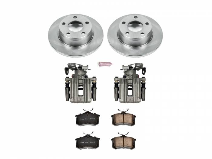Power Stop - Autospecialty By Power Stop 1-Click OE Replacement Brake Kit w/Calipers | Power Stop (KCOE940)