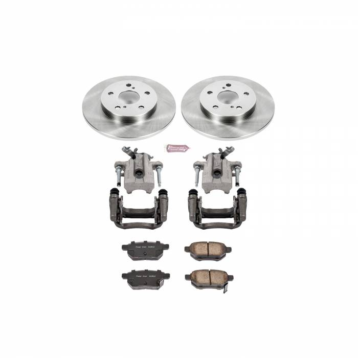 Power Stop - Autospecialty By Power Stop 1-Click OE Replacement Brake Kit w/Calipers | Power Stop (KCOE7753)