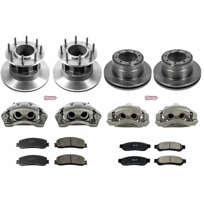 Power Stop - Autospecialty By Power Stop 1-Click OE Replacement Brake Kit w/Calipers | Power Stop (KCOE6527)