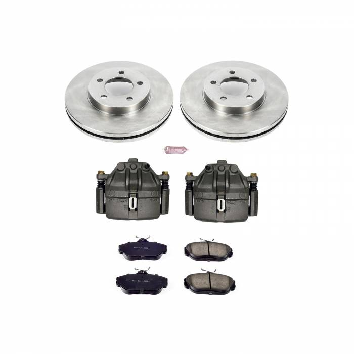 Power Stop - Autospecialty By Power Stop 1-Click OE Replacement Brake Kit w/Calipers | Power Stop (KCOE1327)