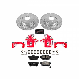 Power Stop - Z23 Evolution Sport Performance 1-Click Brake Kit w/Powder Coated Calipers | Power Stop (KC3128A)