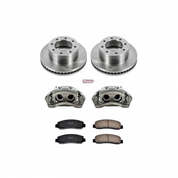 Power Stop - Autospecialty By Power Stop 1-Click OE Replacement Brake Kit w/Calipers | Power Stop (KCOE5412A)