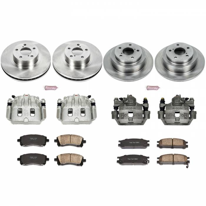 Power Stop - Autospecialty By Power Stop 1-Click OE Replacement Brake Kit w/Calipers | Power Stop (KCOE1121)