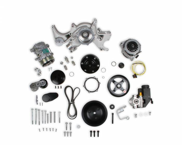 Holley Performance - Mid-Mount Complete Accessory Drive System | Holley Performance (20-240)