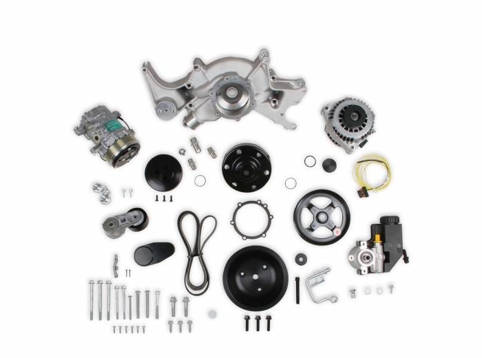 Holley Performance - Mid-Mount Complete Accessory Drive System   Holley Performance (20-242)