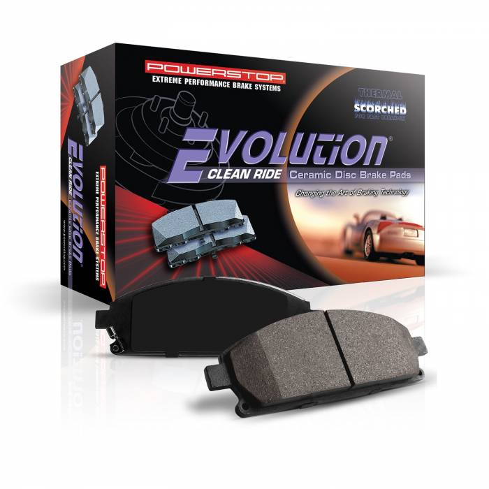 Power Stop - Z16 Evolution Premium Ceramic Brake Pads | Power Stop (16-2176)