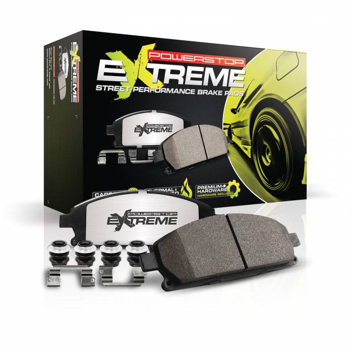 Power Stop - Z26 Extreme Street Performance Brake Pads w/Hardware | Power Stop (Z26-1391A)