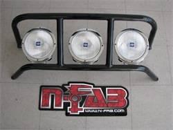 Exterior Lighting - Light Bar - N-Fab - DRP Light Cage | N-Fab (D10DRP)