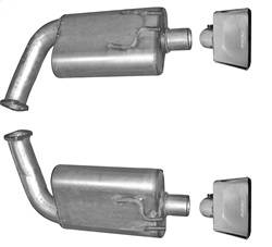 Gibson Performance - Axle Back Dual Exhaust System | Gibson Performance (618002)
