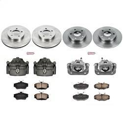 Suspension/Steering/Brakes - Brakes - Disc Brake Pad/Caliper and Rotor Kit