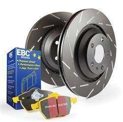 Suspension/Steering/Brakes - Brakes - Disc Brake Pad and Rotor Kit