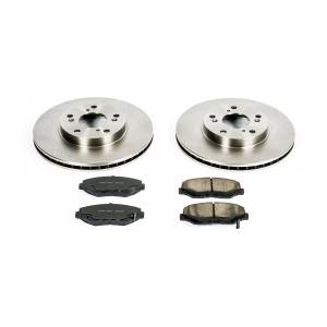 Brakes - Disc Brake Pad and Rotor Kit - Power Stop - Autospecialty By Power Stop 1-Click Daily Driver Brake Kits | Power Stop (KOE1043)