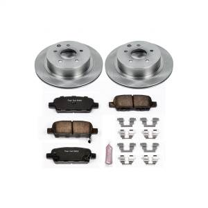 Brakes - Disc Brake Pad and Rotor Kit - Power Stop - Autospecialty By Power Stop 1-Click Daily Driver Brake Kits | Power Stop (KOE103)