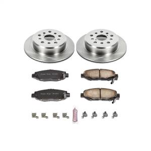 Brakes - Disc Brake Pad and Rotor Kit - Power Stop - Autospecialty By Power Stop 1-Click Daily Driver Brake Kits | Power Stop (KOE1080)
