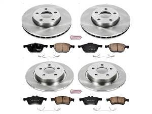 Power Stop - Autospecialty By Power Stop 1-Click Daily Driver Brake Kits | Power Stop (KOE7635) - Image 1