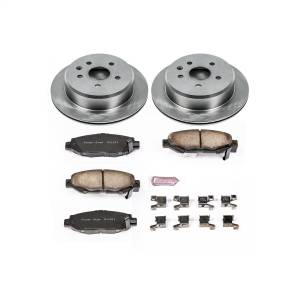 Brakes - Disc Brake Pad and Rotor Kit - Power Stop - Autospecialty By Power Stop 1-Click Daily Driver Brake Kits | Power Stop (KOE1072)