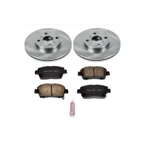 Brakes - Disc Brake Pad and Rotor Kit - Power Stop - Autospecialty By Power Stop 1-Click Daily Driver Brake Kits | Power Stop (KOE109)