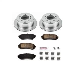 Brakes - Disc Brake Pad and Rotor Kit - Power Stop - Autospecialty By Power Stop 1-Click Daily Driver Brake Kits | Power Stop (KOE1134)