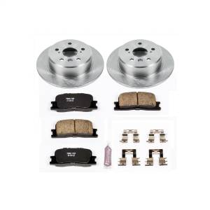 Brakes - Disc Brake Pad and Rotor Kit - Power Stop - Autospecialty By Power Stop 1-Click Daily Driver Brake Kits | Power Stop (KOE1069)