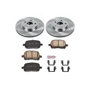 Brakes - Disc Brake Pad and Rotor Kit - Power Stop - Autospecialty By Power Stop 1-Click Daily Driver Brake Kits | Power Stop (KOE1135)