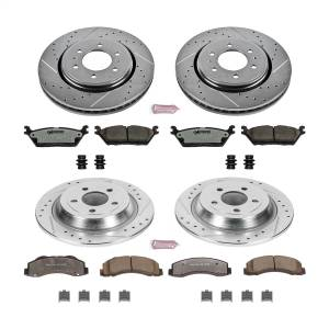 Power Stop - Z36 Severe-Duty Truck And Tow 1-Click Brake Kit | Power Stop (K6803-36) - Image 1