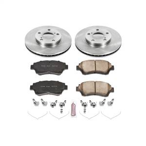 Brakes - Disc Brake Pad and Rotor Kit - Power Stop - Autospecialty By Power Stop 1-Click Daily Driver Brake Kits | Power Stop (KOE1054)