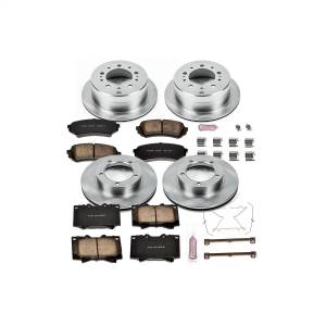 Brakes - Disc Brake Pad and Rotor Kit - Power Stop - Autospecialty By Power Stop 1-Click Daily Driver Brake Kits | Power Stop (KOE1133)