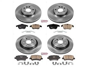 Power Stop - Autospecialty By Power Stop 1-Click Daily Driver Brake Kits   Power Stop (KOE7638) - Image 1