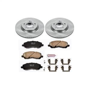Brakes - Disc Brake Pad and Rotor Kit - Power Stop - Autospecialty By Power Stop 1-Click Daily Driver Brake Kits | Power Stop (KOE094)