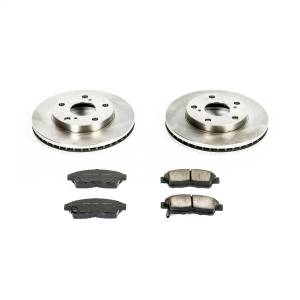 Brakes - Disc Brake Pad and Rotor Kit - Power Stop - Autospecialty By Power Stop 1-Click Daily Driver Brake Kits | Power Stop (KOE1052)