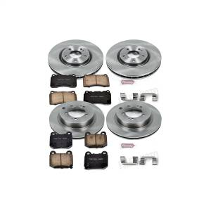 Brakes - Disc Brake Pad and Rotor Kit - Power Stop - Autospecialty By Power Stop 1-Click Daily Driver Brake Kits | Power Stop (KOE108)