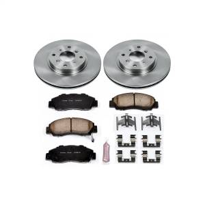 Brakes - Disc Brake Pad and Rotor Kit - Power Stop - Autospecialty By Power Stop 1-Click Daily Driver Brake Kits | Power Stop (KOE1037)