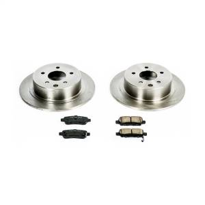 Brakes - Disc Brake Pad and Rotor Kit - Power Stop - Autospecialty By Power Stop 1-Click Daily Driver Brake Kits | Power Stop (KOE098)