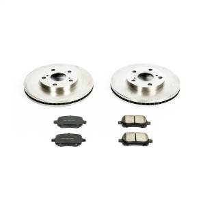 Brakes - Disc Brake Pad and Rotor Kit - Power Stop - Autospecialty By Power Stop 1-Click Daily Driver Brake Kits | Power Stop (KOE1058)