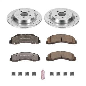 Power Stop - Z36 Severe-Duty Truck And Tow 1-Click Brake Kit | Power Stop (K6814-36) - Image 1