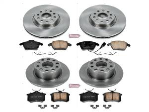 Power Stop - Autospecialty By Power Stop 1-Click Daily Driver Brake Kits   Power Stop (KOE7530) - Image 1
