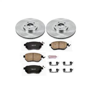 Brakes - Disc Brake Pad and Rotor Kit - Power Stop - Autospecialty By Power Stop 1-Click Daily Driver Brake Kits | Power Stop (KOE091)