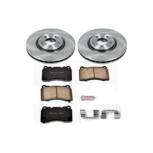 Brakes - Disc Brake Pad and Rotor Kit - Power Stop - Autospecialty By Power Stop 1-Click Daily Driver Brake Kits | Power Stop (KOE107)