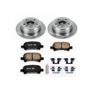 Brakes - Disc Brake Pad and Rotor Kit - Power Stop - Autospecialty By Power Stop 1-Click Daily Driver Brake Kits | Power Stop (KOE1083)