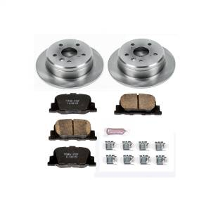 Brakes - Disc Brake Pad and Rotor Kit - Power Stop - Autospecialty By Power Stop 1-Click Daily Driver Brake Kits | Power Stop (KOE1084)