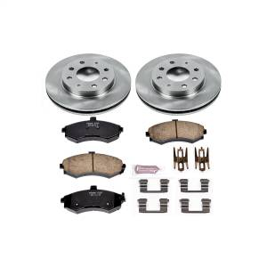 Brakes - Disc Brake Pad and Rotor Kit - Power Stop - Autospecialty By Power Stop 1-Click Daily Driver Brake Kits | Power Stop (KOE1093)