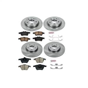 Power Stop - Autospecialty By Power Stop 1-Click Daily Driver Brake Kits   Power Stop (KOE4056) - Image 1