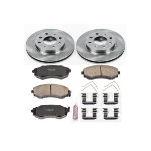 Brakes - Disc Brake Pad and Rotor Kit - Power Stop - Autospecialty By Power Stop 1-Click Daily Driver Brake Kits | Power Stop (KOE1087)