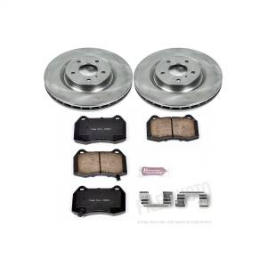 Brakes - Disc Brake Pad and Rotor Kit - Power Stop - Autospecialty By Power Stop 1-Click Daily Driver Brake Kits | Power Stop (KOE104)